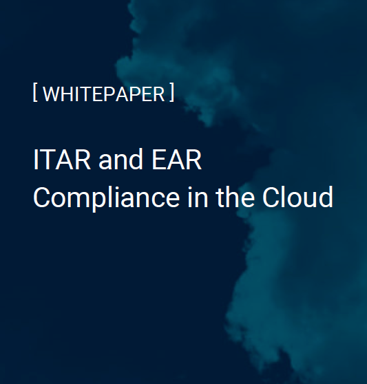 ITAR and EAR Whitepaper cover